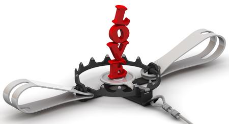 dangerous love: Love as dangerous lure