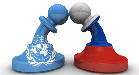 united nations: El enfrentamiento entre la Federación de Rusia y las Naciones Unidas. El concepto