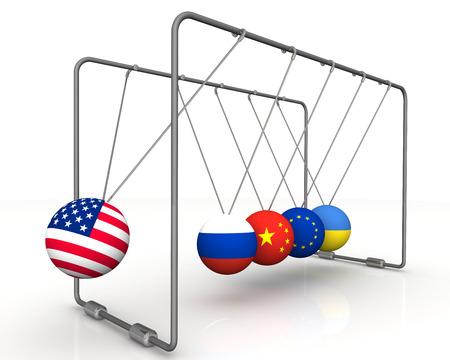 Das Gesetz der Rückwirkung von Sanktionen in der Geopolitik. Das Konzept