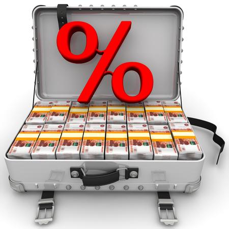 capital gains: Beneficial interest. Business concept