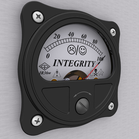 no integrity: Integrity indicator