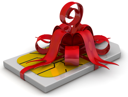 SIM card as a gift