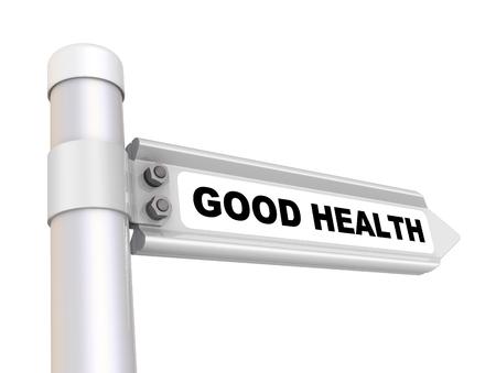 Good health. Way mark