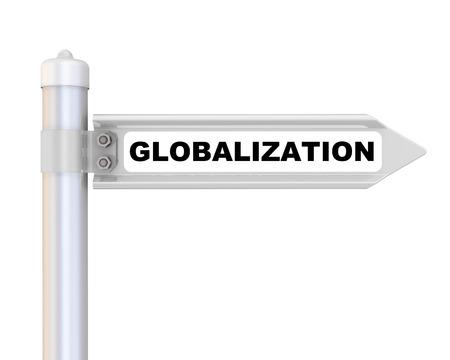 Globalization. The way mark