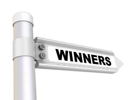 Winners. The way mark