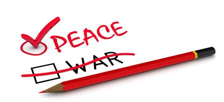 Peace, but not war