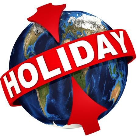 Worldwide holiday Zdjęcie Seryjne