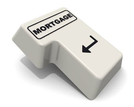The enter key labeled mortgage