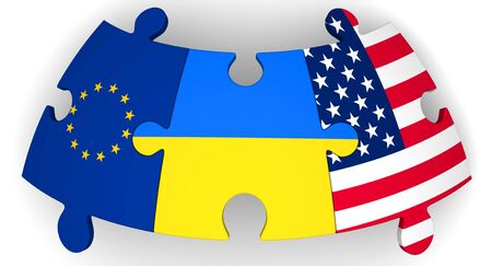 Cooperation of the Ukraine, the European Union and the United States of America
