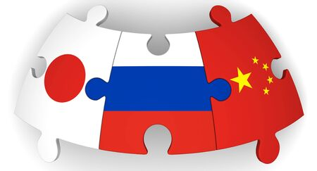 Cooperation of Russia, China and Japan
