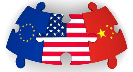 Cooperation of USA, European Union and China
