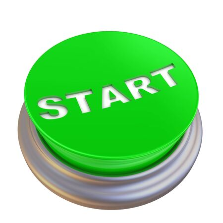 Green button labeled with word START
