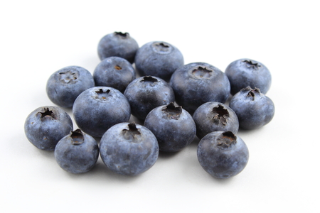 blueberry fruits isolated on a white background Stockfoto