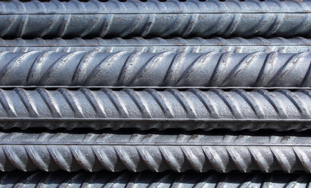 bundle of steel reinforcement bars Stok Fotoğraf - 90322012
