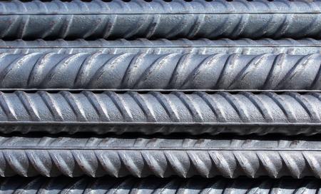 Bündel von Stahlbewehrungsstäben