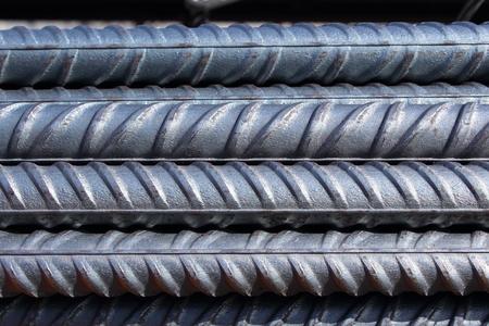 Bündel von Stahlbewehrungsstangen