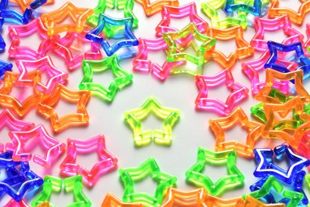 Star plastic chain