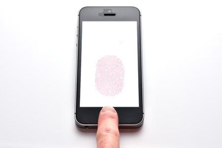 Fingerprint smart phones