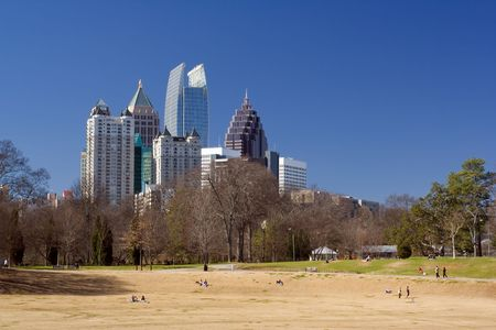 Sunny afternoon at Piedmont Park