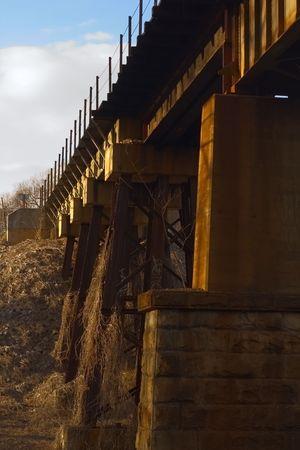 Train trestle Stock fotó