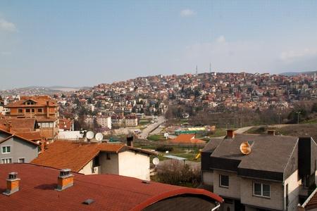 View over Pristina, Kosovo