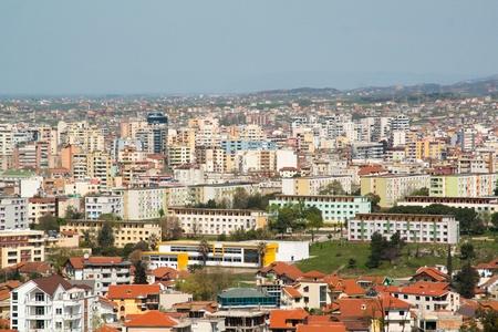 Tirana cityscape