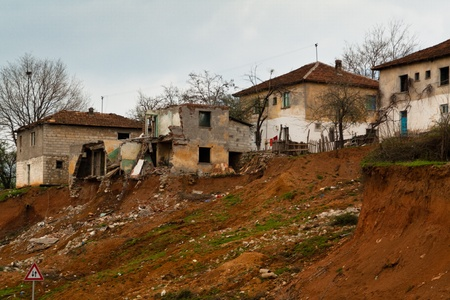 albanian: Old Albanian village