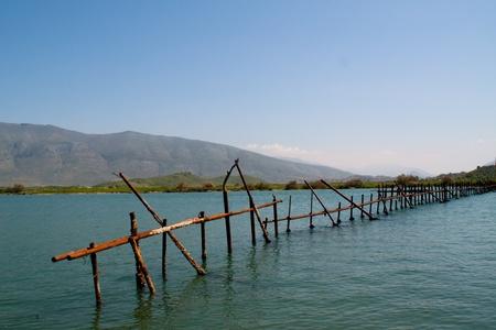 Waterside in Butrint, Albania