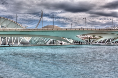 hemispheric: A bridge in the ciudad de las artes y las ciencias