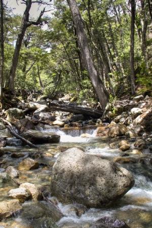 bariloche: Waterfall near the city of Bariloche, Argentina Stock Photo