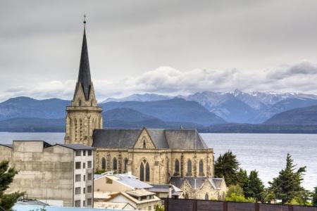bariloche: Cathedral of the city of Bariloche, Argentina Stock Photo