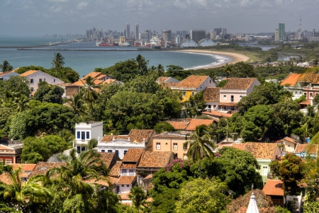View over Recife from Olinda, Brazil