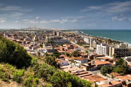 View over the city of Natal, Brazil