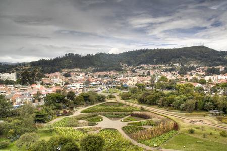 cuenca: View over the city of Cuenca in Ecuador