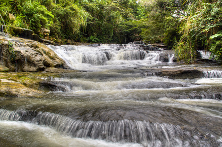 Waterfall near the town of San Gil, Colombia photo