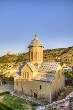 tbilisi: Chiesa nella citt� di Tbilisi, Georgia
