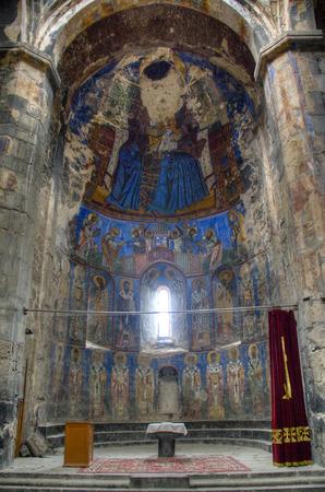 divinity: Inside the monastery of Akhtala in Armenia Editorial