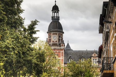 historical building: Historical building in the town of Berchem in Antwerp, Belgium
