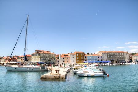 adriatico: The old habor in Cres village on Cres island in Croatia