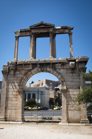 The Athens gate in Athens, the capital of Greece