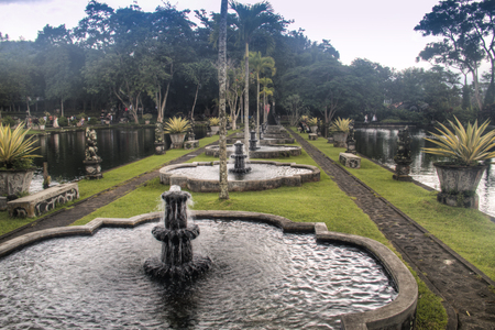 Tirta Gangga is one of the famous water palaces in eastern Bali, the most touristic island of Indonesia