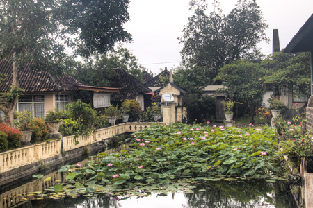 Tirta Gangga is one of the famous water palaces in eastern Bali, the most touristic island of Indonesia Фото со стока - 120167993