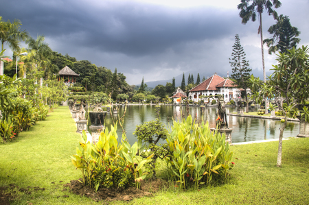 Taman Ujung is one of the famous water palaces in eastern Bali, the most touristic island of Indonesia