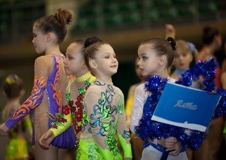 Gimnastics open tournament. 16-17th December 2011, Lviv, Ukraine