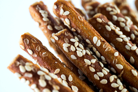 salted sticks with susan on white