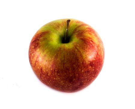 red apple on white background Stockfoto