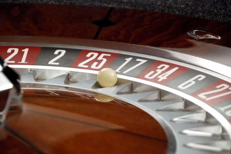 Roulette and Ball photo