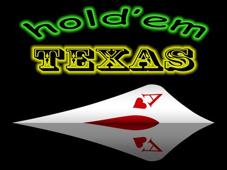 aces in hand in game poker on the casino table