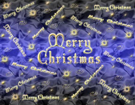 Christmas background with Christmas symbols and merry christmas
