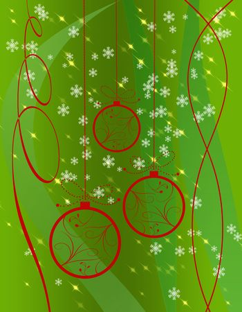 vanish: Illustration of Christmas for graphics or background